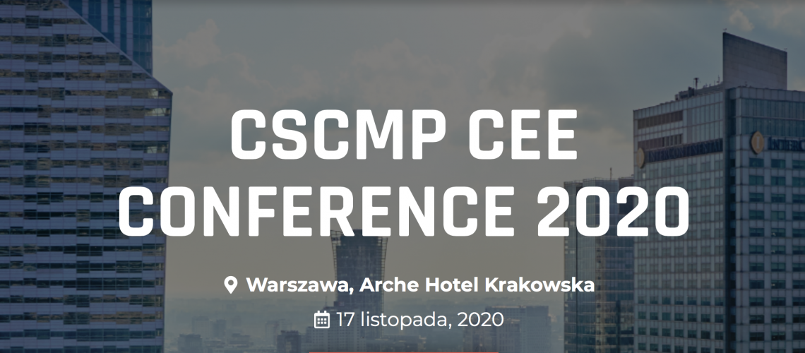CSCMP CEE CONFERENCE 2020